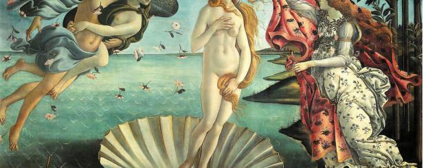 Nascita di Venere of Botticelli