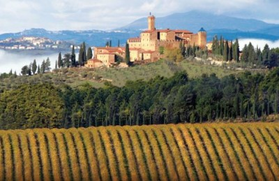 Brunello winery