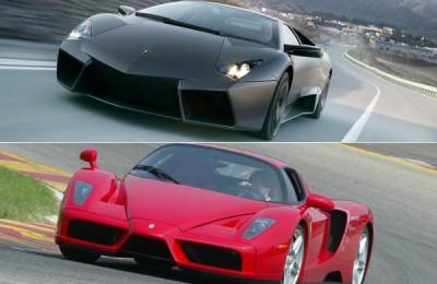 Ferrari, Lamborghini